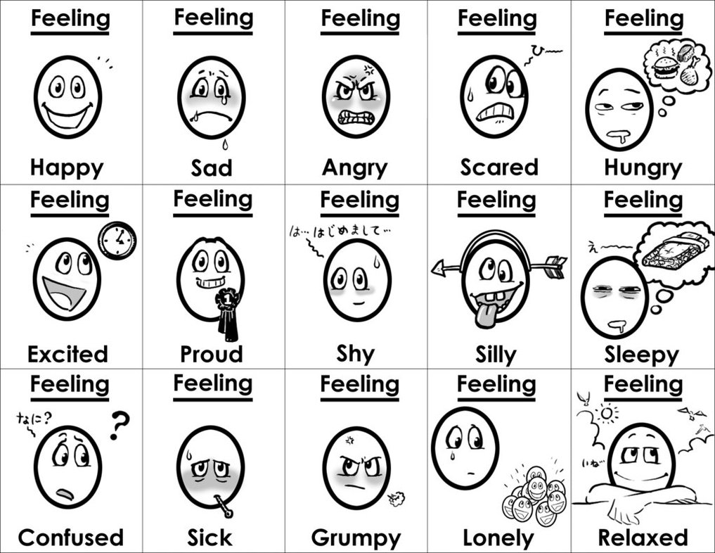 Free Coloring Pages Of Emotion And Feeling Emotion Coloring Pages